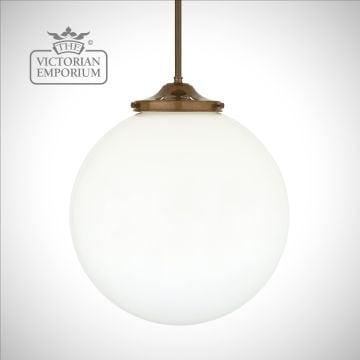 Luan Globe Pendant Light - choice of finishes