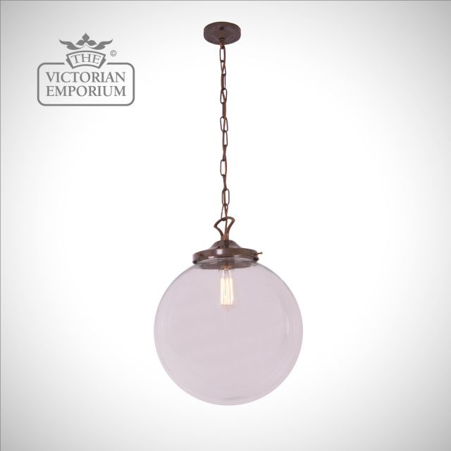 Riad Single Globe Pendant in a choice of sizes