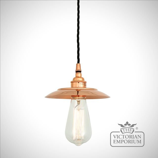Suvar Pendant Light in Polished Copper