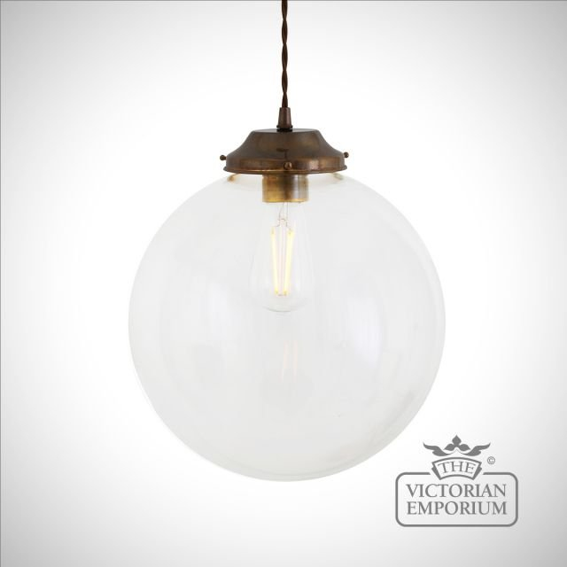 Virginia Globe Pendant in a choice of sizes