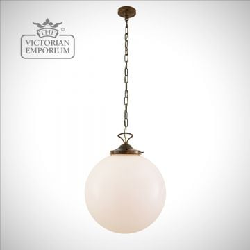 Classic Globe Pendant with a choice of 5 sizes