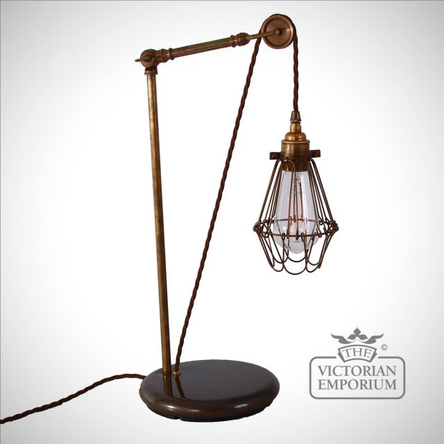 Epoch Pulley Cage Table Light