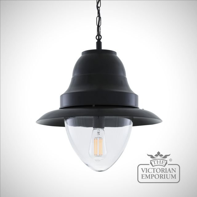 Scotsdale Large Pendant in Black