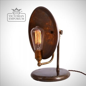 Cullen Industrial Dish Table Lamp