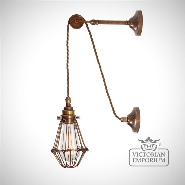 Epoch Pulley Cage Wall Light