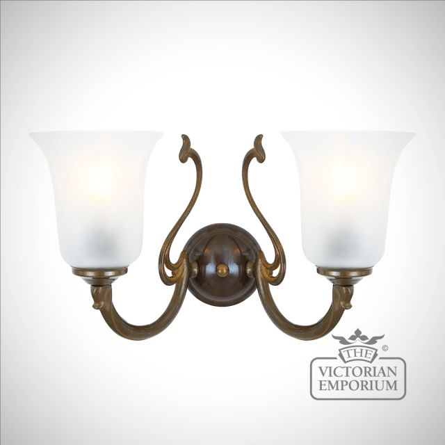 Brisbane Double Wall sconce