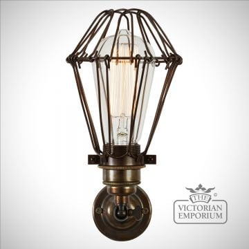 Cotton Cage Wall Light