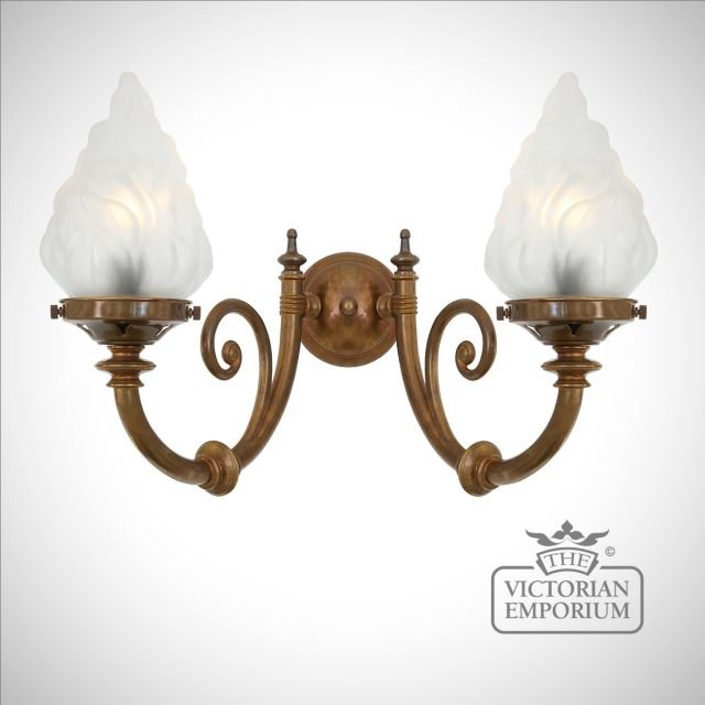 Darwin Double Wall sconce