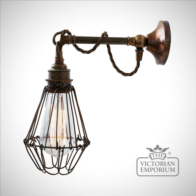 Edome Cage Wall light