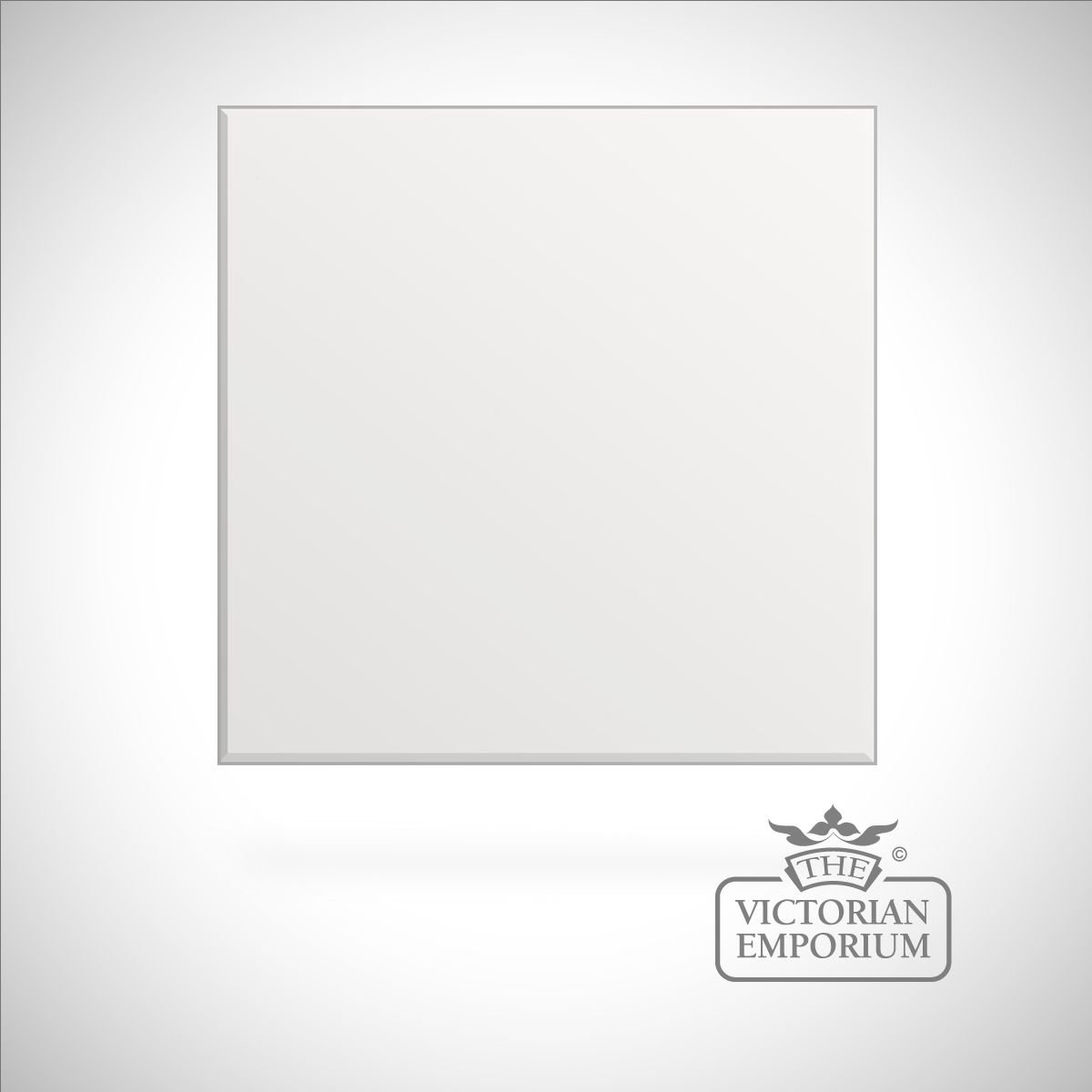 Plain Victorian Square Gloss Tiles 100x100mm In A Choice Of Colours