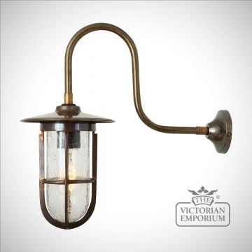 Faba Well Glass Wall Light