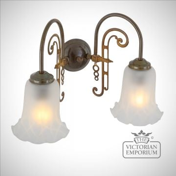 Medan Double Wall Light