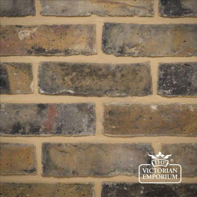Dark Weathered Original London Stock Brick Slip