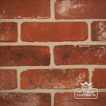 Weathered Soft Red Brick Slip