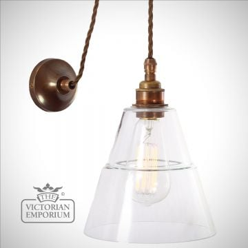 Rigal Coolie Industrial Wall Light in a choice of finishes