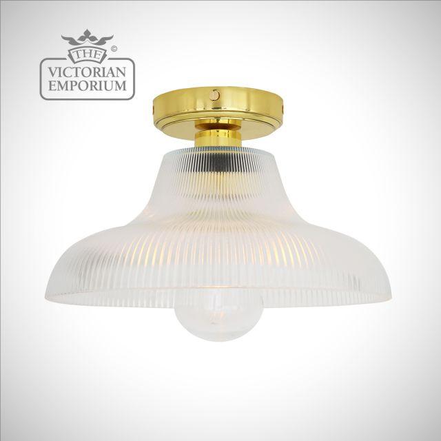 Aqua Bathroom Ceiling Flush Mount Light - Choice of 2 sizes
