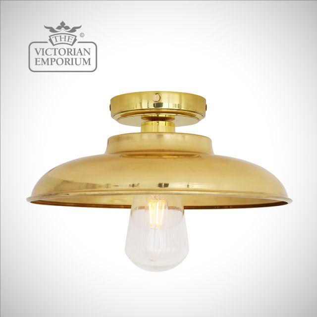Daria Bathroom Ceiling Flush Mount Light