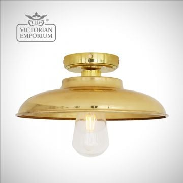 Daria Bathroom Ceiling Flush Mount Light