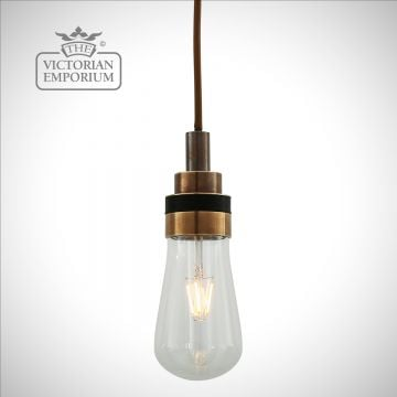 Beau Bathroom or Outdoor Pendant Light