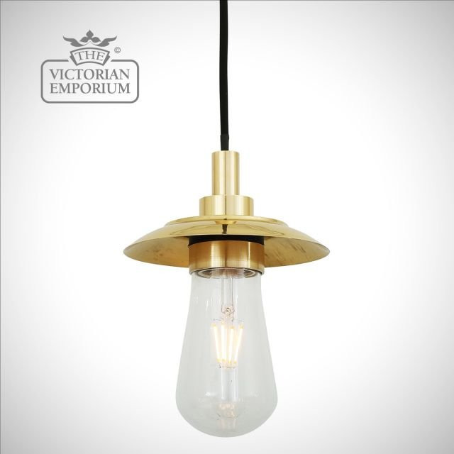 Wren Outdoor or Bathroom Pendant Light