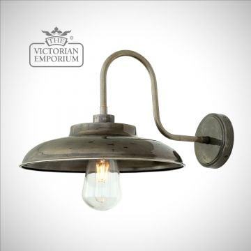 Daria Bathroom or Outdoor Swan Neck Wall Light