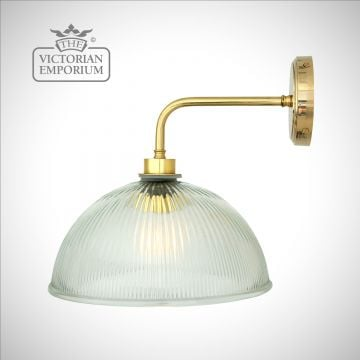 Paris Holophane Bathroom or Outdoor Wall Light