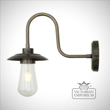 Wren Swan Neck Outdoor or Bathroom Wall Light