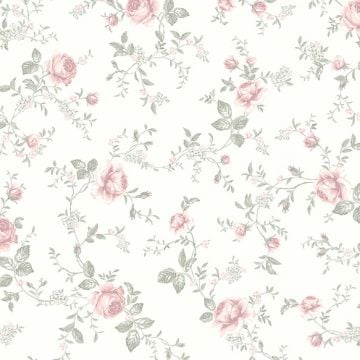Rose Garden wallpaper in choice of 2 colours