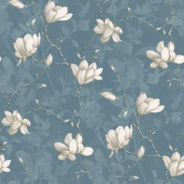 Lily wallpaper in choice of 4 colours