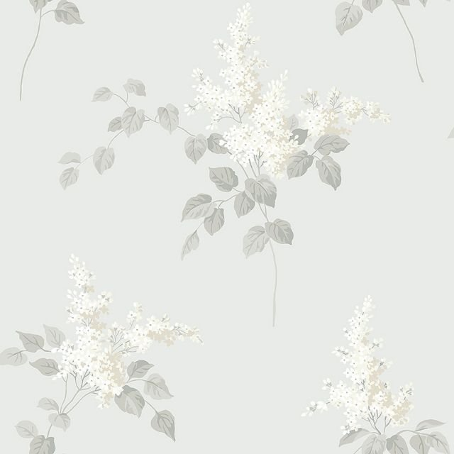 Lilacs wallpaper with a choice of 3 colourways