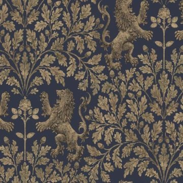 Boscobel wallpaper in choice of four metallic colourways