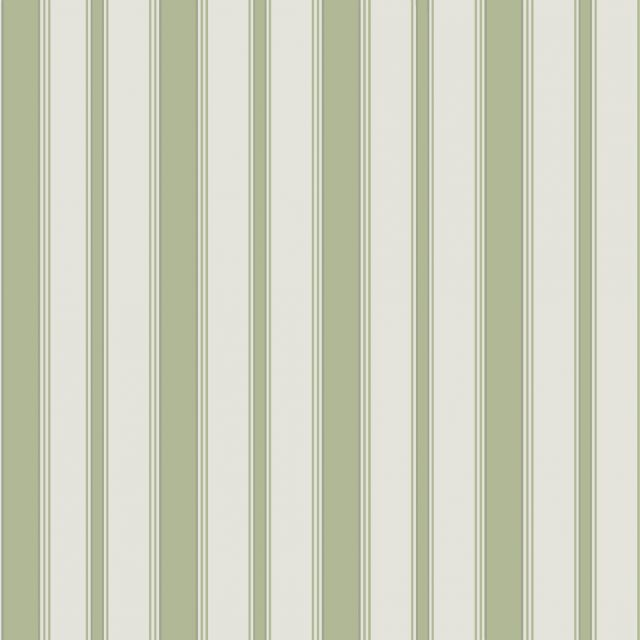 Cambridge stripe wallpaper in choice of red, green, blue, khaki or beige