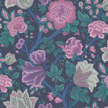 Midsummer Flowers wallpaper in a choice of 4 colourways