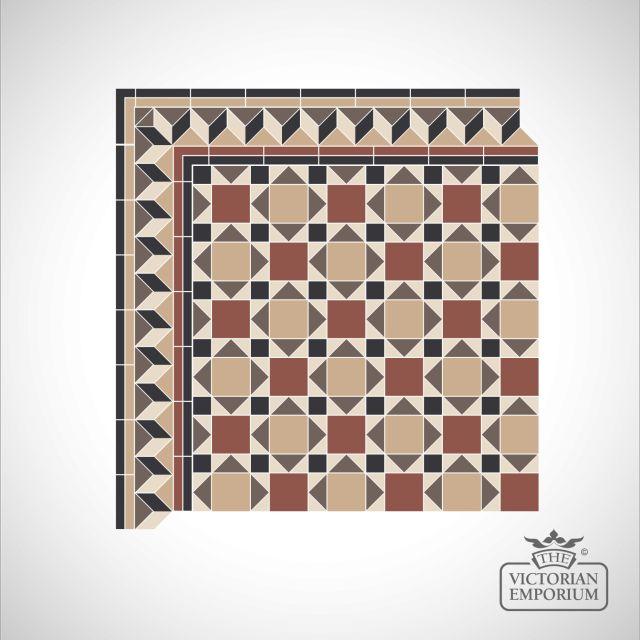 Manchester Victorian Mosaic Floor Tiles