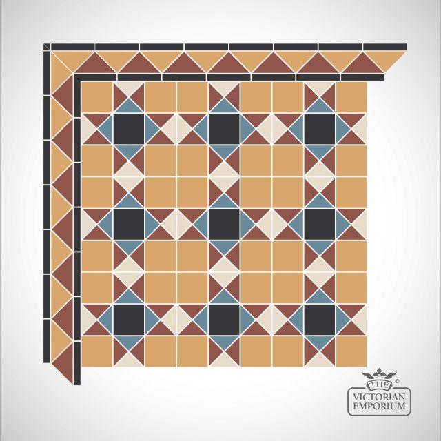 Richmond Victorian Mosaic Floor Tiles