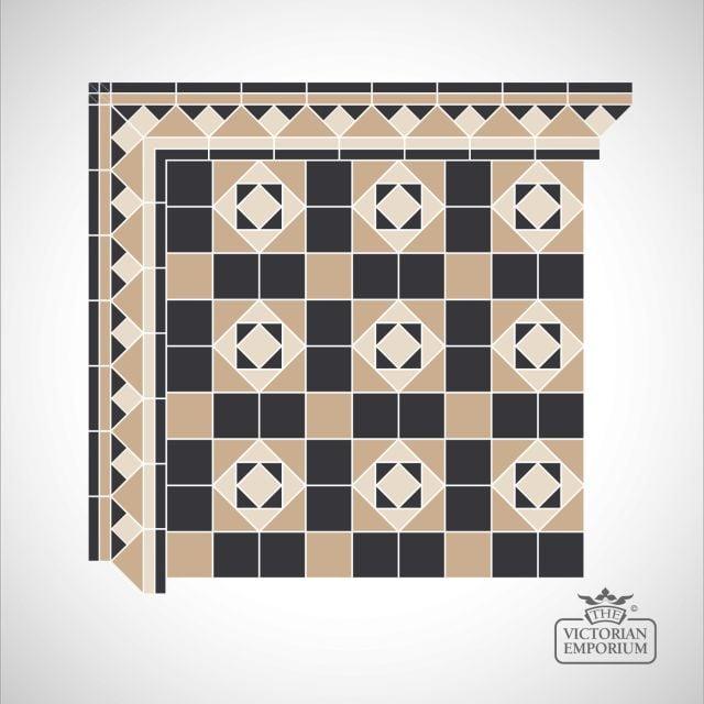 Edinburgh Victorian Mosaic Floor Tiles
