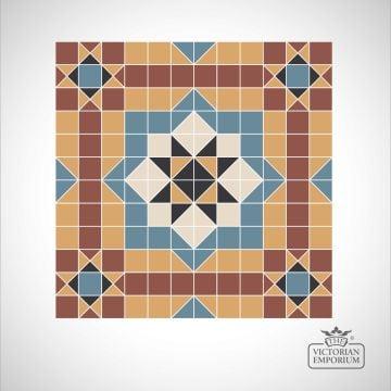 Lisbon Victorian Mosaic Floor Tiles - centre panels