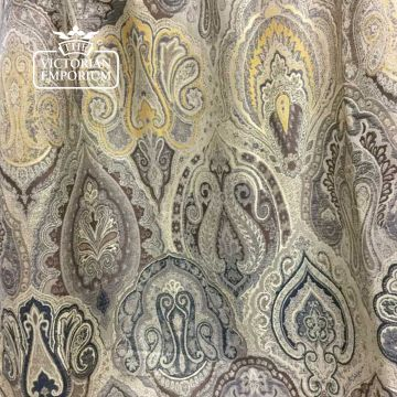 Babylon Paisley Fabric in a choice of colourways