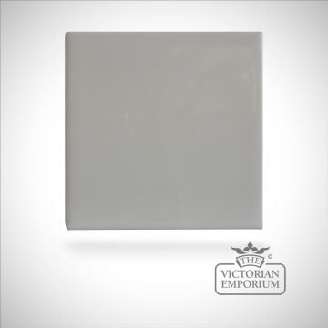 Neutral coloured tiles - White - 110x110mm