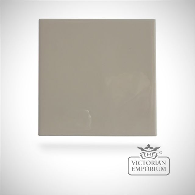 Neutral coloured tiles - Ivory - 110x110mm