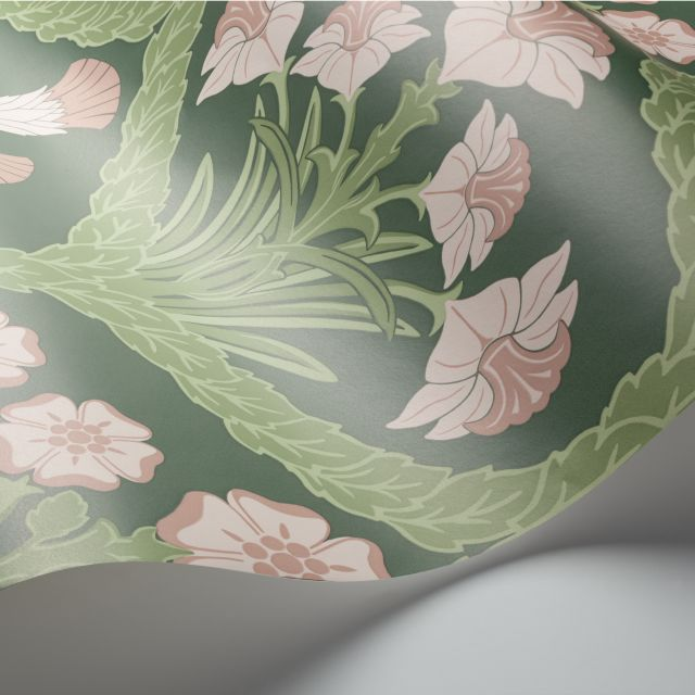 Floral Kingdoms wallpaper in a choice of 4 colourways