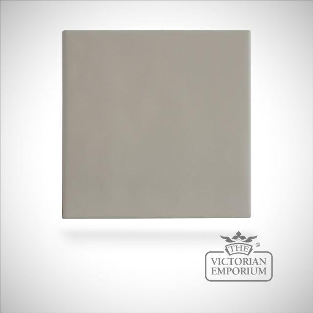 Neutral coloured tiles - matt white - 110x110mm