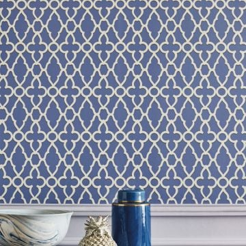 Trellage wallpaper in a choice of 5 colourways