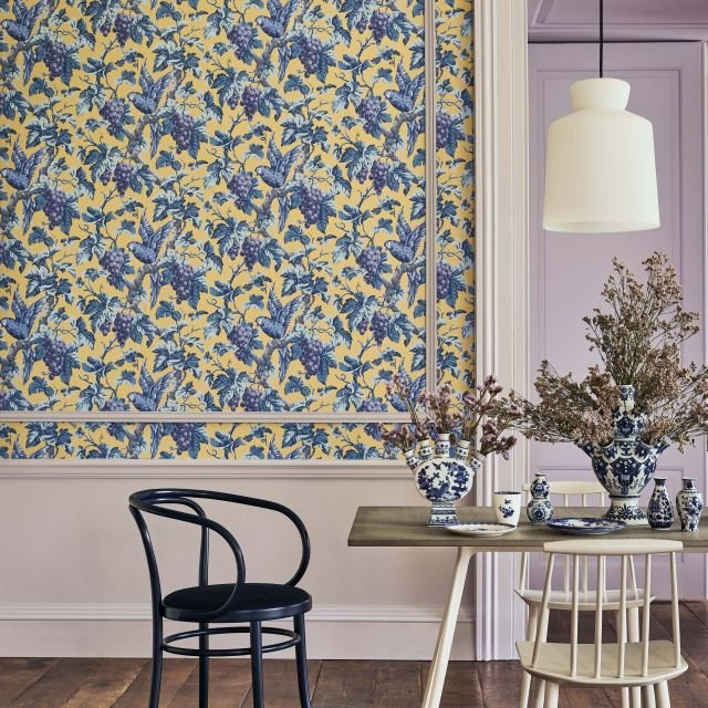Woodvale wallpaper in a choice of 4 colourways