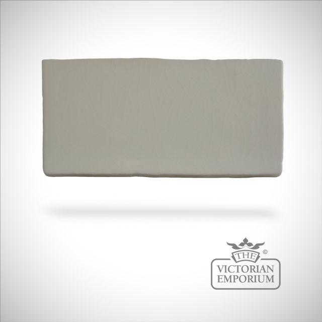 Timeless crackle glazed - On Cloud Nine - 75x150mm