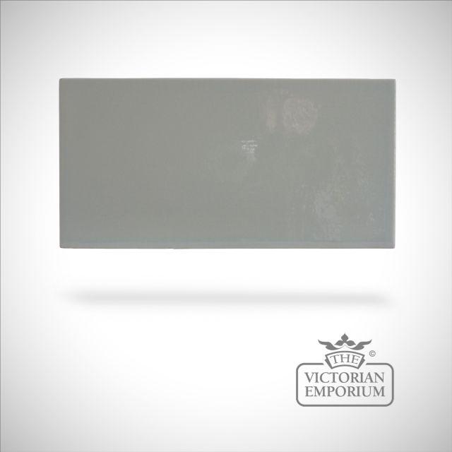 Plain brick crackle glazed - Celadon - 100x200mm