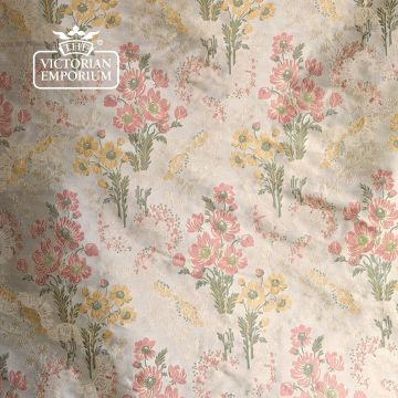 Ophelia Fabric in a choice of 2 colourways