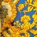 Pine-piccadilly-fabric-grand-damask-trellis-design-f0139-azure-gold