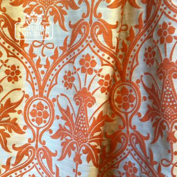 Shrewsbury Holmdale Fabric in Putty and Ginger