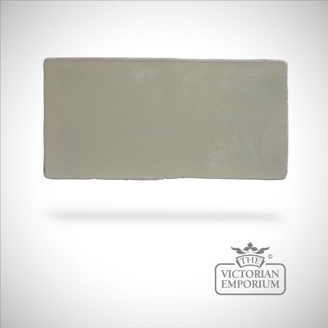 Vintage crackle glazed - Chiffon - 75x150mm